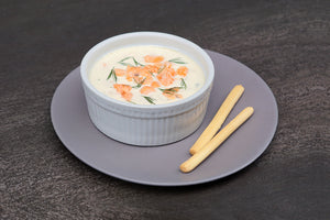 Cream of Salmon with Dill