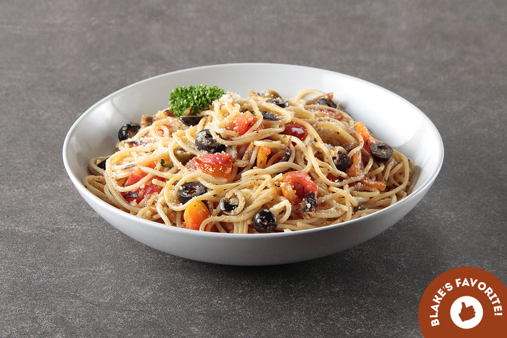 Spaghetti with Dried Tuyo in Olive Oil