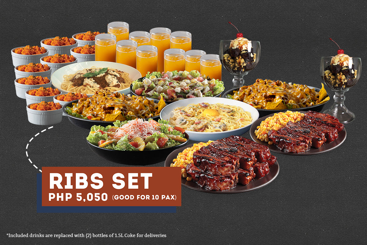 Ribs Set Meal for 10