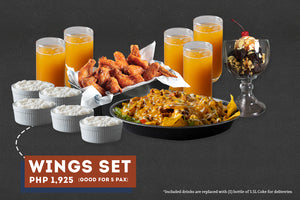 Wings Set Meal for 5
