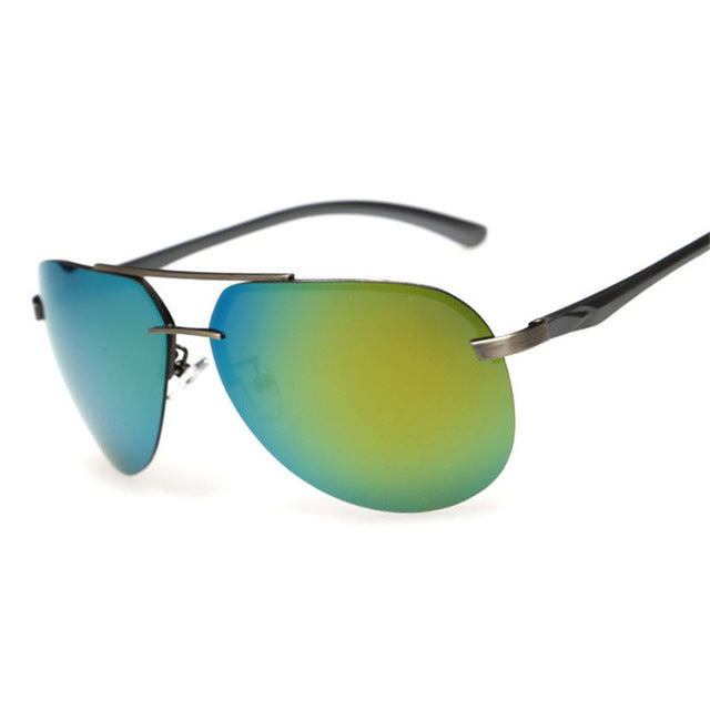Men's sunglasses brand designer pilot polarized mens sunglasses