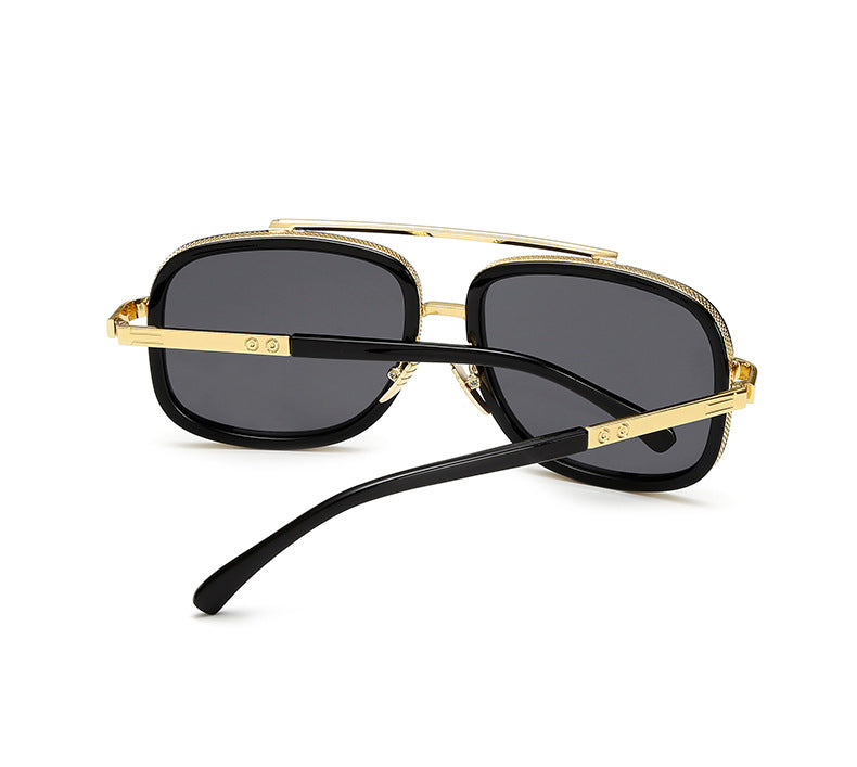 New Luxury Brand mach one Oversized Men Sunglasses Square Male Mirror Eyewear
