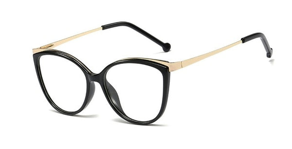 Titanium Frames Retro Cat Eye Glasses Frames Ultralight