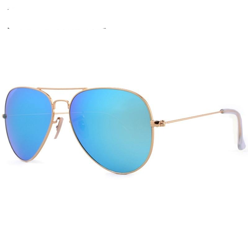 high quality Fashion Brand design men & women driving glass lens sunglasses