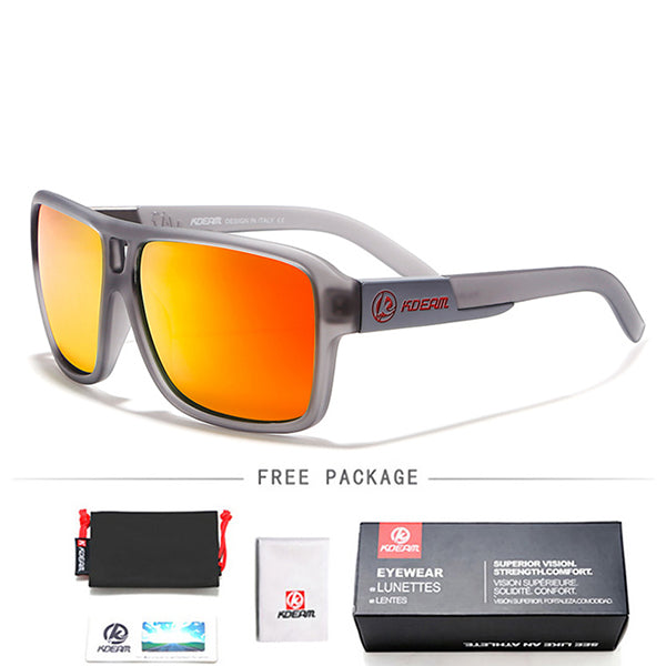 Polarized Goggles Men Sport Eyewear Square Sunglasses Male Driving Brand