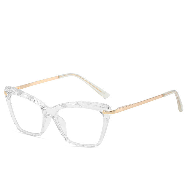 Retro Cat Eye Women Glasses Frame Optical Clear Lens Glasses Eyeglasses Frames