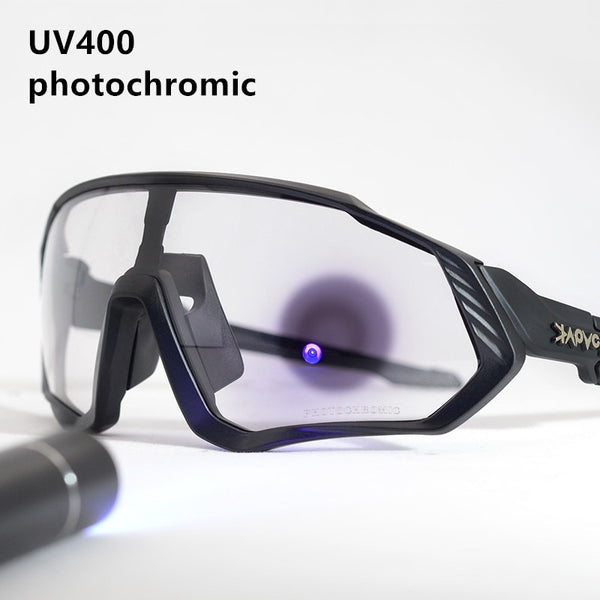Photochromic Cycling Sunglasses Outdoor sport Bicycle Glasses Bike Sunglasses Goggles Eyewear