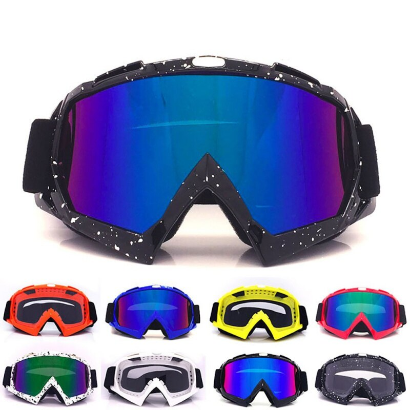 Hot Unisex Ski Goggles Snowboard Mask Winter Snowmobile Motocross Sunglasses  Windproof UV Protection Winter Sport Glasses*