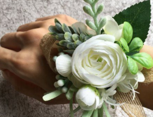 Clean and Green Corsage