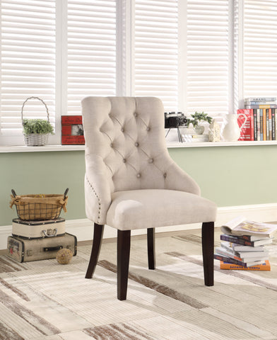 YD-010 COLLETTE BEIGE CHAIR - mrfurnitureandmattress