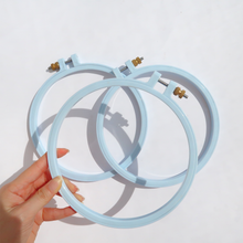 Load image into Gallery viewer, Embroidery Plastic Hoop (Pastel)