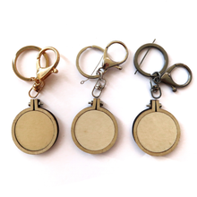 Load image into Gallery viewer, Mini Keychain Hoops (Set of 3)