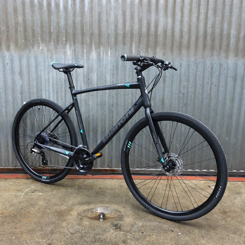Bianchi C-Sport 1 Flat Bar Fitness Hybrid Road Bike