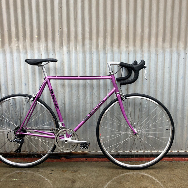Bianchi Used Purple Classic Road Bike