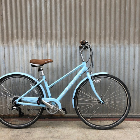 Bianchi Milano  - Powder Blue Classy Women's City Bike