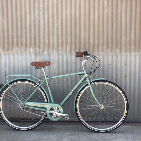 Bianchi Venezia City Bike - Celeste Green