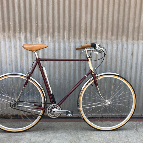 Men's City Bike - Classic Full Fender City Bike