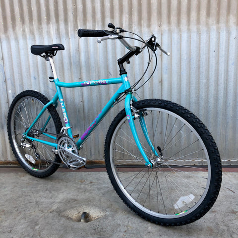 Haro Extreme Vintage MTB as Burrito Slaying City Bike
