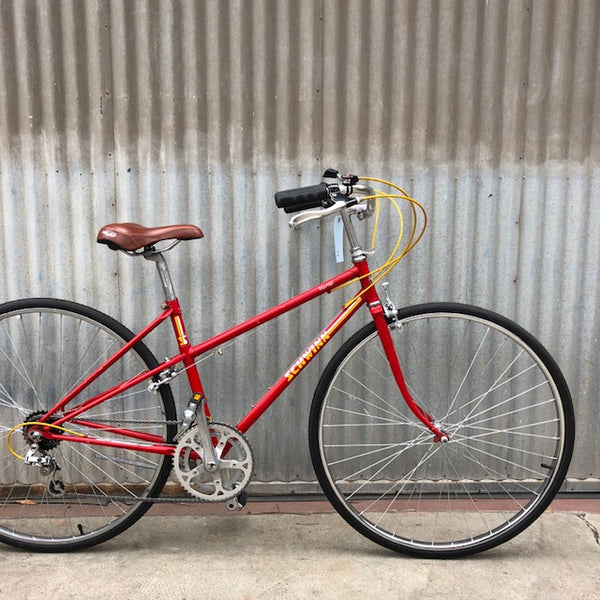 Schwinn Vintage Step-Through Conversion to City Bike