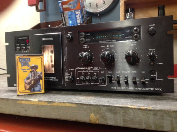 Eumig FL-1000uP 3-head Cassette Deck