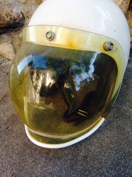 Helmet with Bubble Visor
