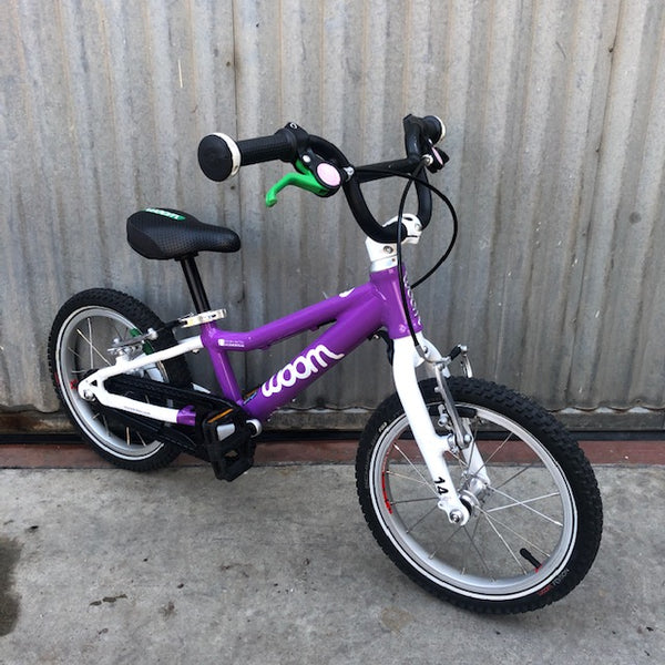 Used Purple woom 2 Kid's Bike