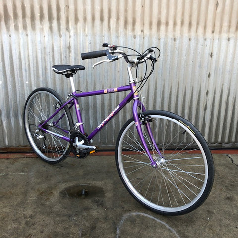 Mongoose Purple Burrito Slayer - Used Conversion of Classic Vintage Mountain Bike