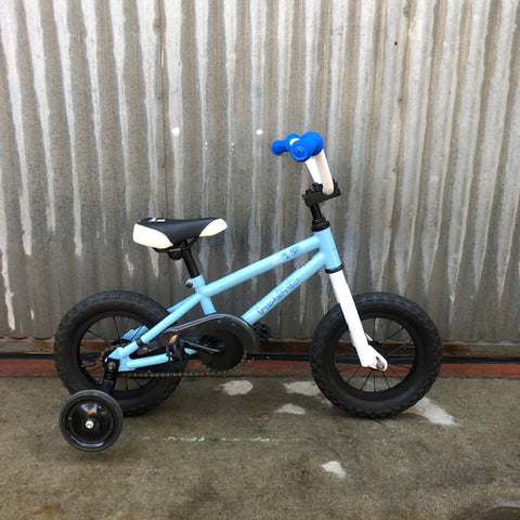 "Kid's 12"" Haro BMX Bike - Used - With Training Wheels"