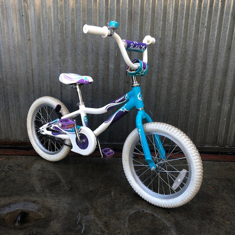 "Nice and Clean Giant Puddin' 16"" Used Kid's Bike"