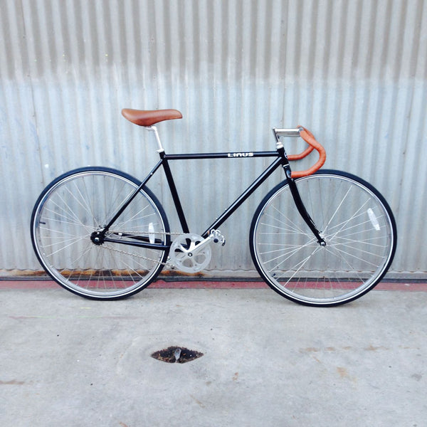 Men's Road Bike - Black Fixie Style