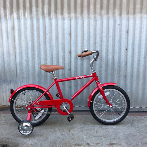 "Kid's Linus City Bike -  Lil Roadster Red 16"" - Studio Rental"