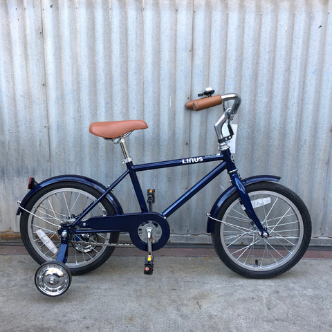 Kid's Linus City Bike -  Lil Roadster Blue 16""