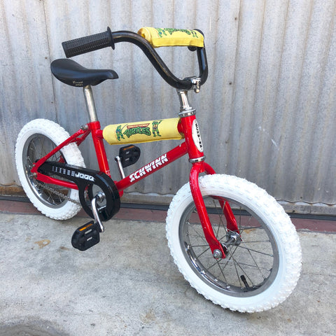 Kid's Classic Bike - Vintage Schwinn BMX Style - Mutant Ninja Bicycles