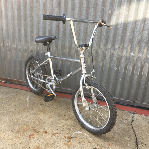 Kid's Small Chrome BMX Bike