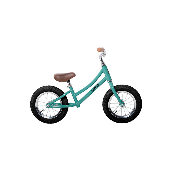 "Kid's Linus Stepthrough  - Lil Dutchi Turquoise 12"" Balance Bike - Studio Rental"