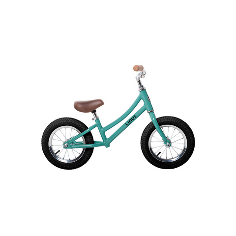 "Kid's Linus Stepthrough  - Lil Dutchi Turquoise 12"" Balance Bike"