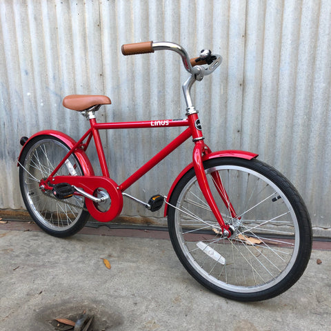 Kid's Linus City Bike -  Lil Roadster Red 20""