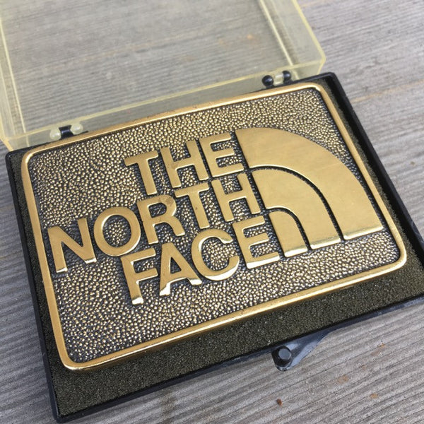 The North Face Brass Belt Buckle (Vintage)
