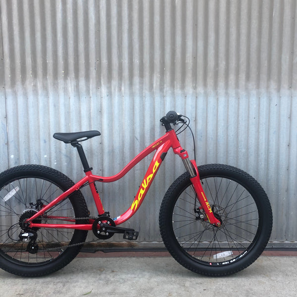 "Salsa 24"" Timberjack Suspension Fork Youth Mountain Bike"
