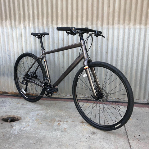 Performance On Road/Off Road Salsa Bicycle - Graphite - For Studio Rental