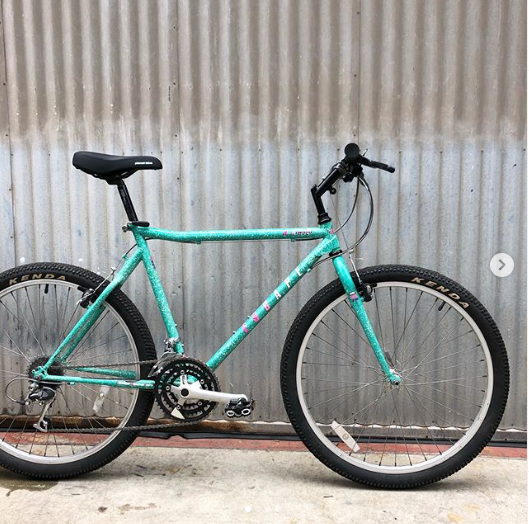 Haro Escape Vintage Mountain Bike with Outrageous 1990's Colorway