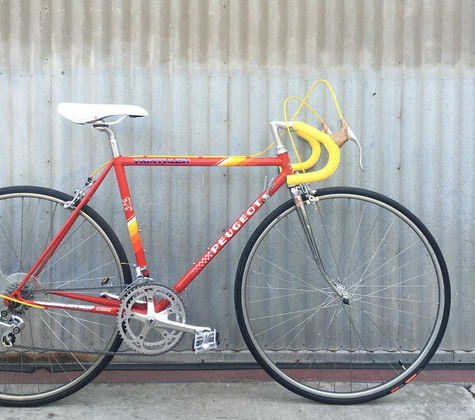 Peugeot Classic Road Bike for L'Eroica in Small 49 CM Size