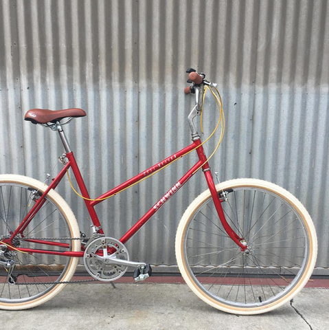 Schwinn Mesa Runner Vintage Stepthrough Sensible City Bike Conversion