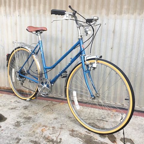 Schwinn Collegiate Euro-style City Bike with Fenders and Generator Lights