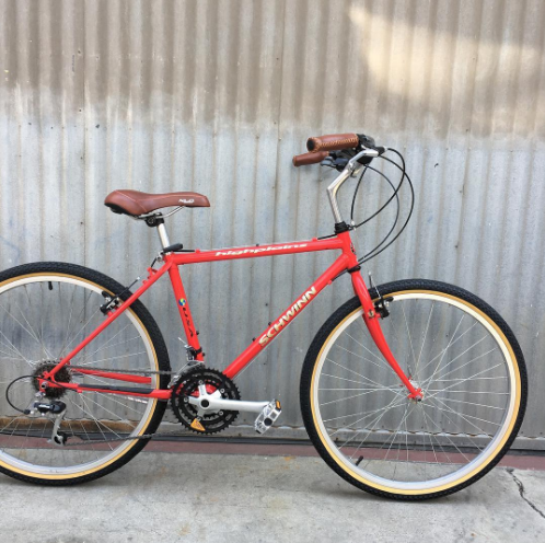 Schwinn Highland Burrito Slayer Style City Bike Conversion
