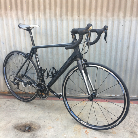 Cannondale Synapse Shimano 105 Full Carbon Modern, Serious Road Bike