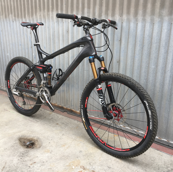 Trek Ex Carbon 9.9 - High End Full Carbon, Full Suspension MTB