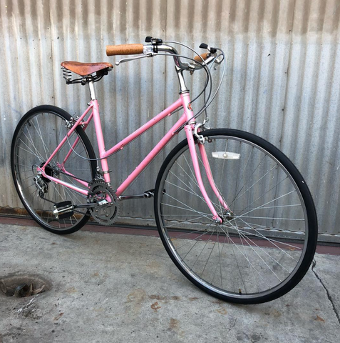 Pink Pearl Schwinn Caliente City Bike for Procuring Baguettes and Stinky Cheese