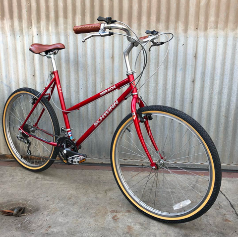 Schwinn Mirada Step-Through Vintage City Bike Conversion