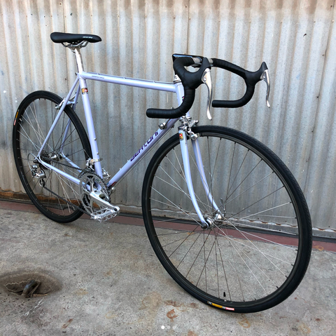 Bertoni Italian Made Road Bike with Shimano 600